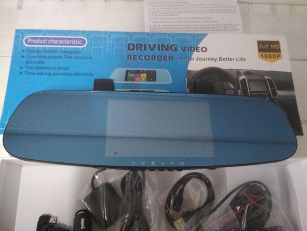 Видеорегистратор зеркало DVR СТ 600 Android,GPS WI FI,c двумя камерами