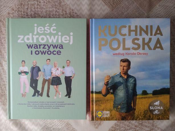 Książka książki Kuchnia Polska Jeść Zdrowiej LIDL