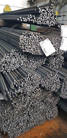 Stal zbrojeniowa drut żebrowany Fi10, Fi12, Fi16 24 tony - transport!