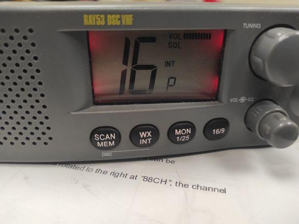 Radio morskie Raymarine Ray 53 DSC VHF