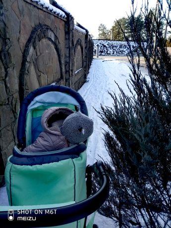 Зимовий комбінезон Bombili + подарунок крута шапка з бафіком