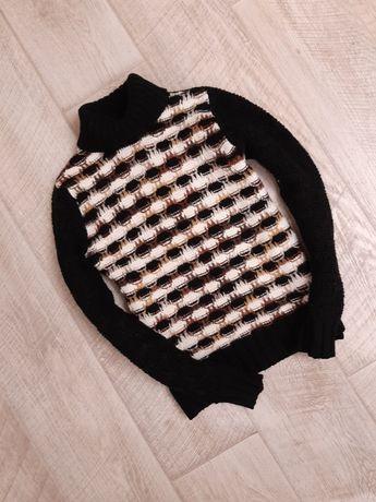Плотный свитер, теплый свитер, гольф