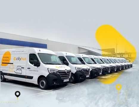 Wynajem busów busa samochodów dostawczych