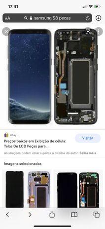 Samsung S8 peças