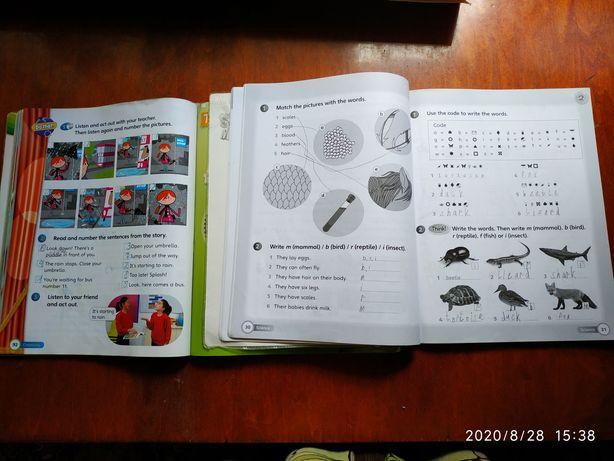 Книжка и тетрадь для английского языка 2 класс