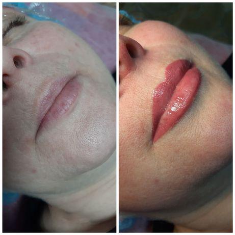 Перманентный макияж 700грн