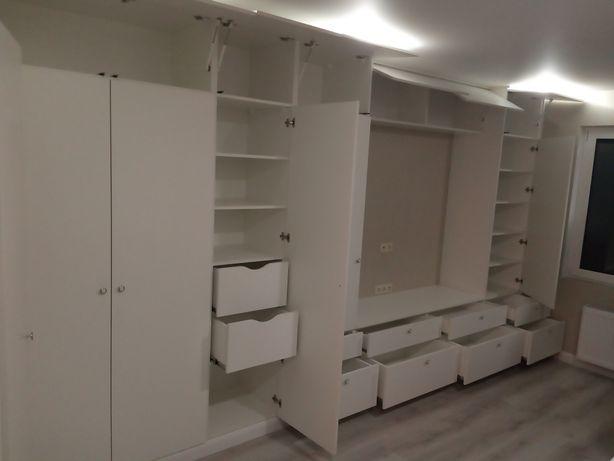 Мебель на заказ, шкафы купе, кухни, прихожие, сборка разборка мебели,