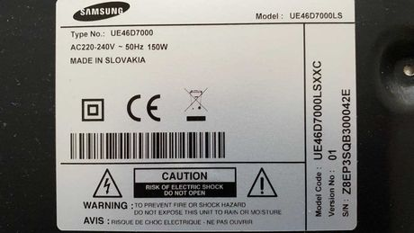 Telewizor Smart 46 cali UE46D7000 Elektronika