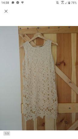 Sukienka ażurowa l