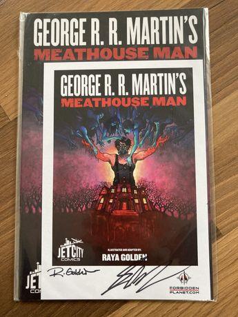 George R R Martin - autograf - Meathouse