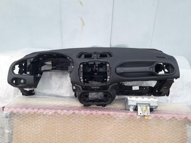 Торпеда панель Jeep Renegade подушка ренегат безопасность шторкаAIRBAG
