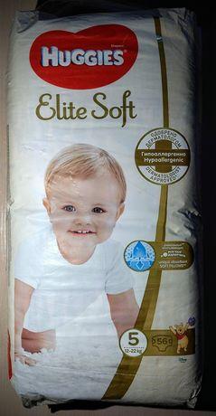 Підгузники Huggies Elite Soft 5 розмір, 56 штук.
