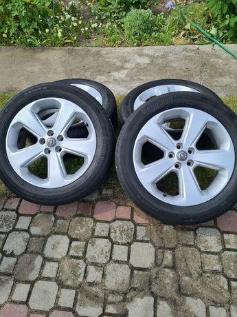 """Alufelgi Opel 18"""" 5x105 z oponami letnimi"""