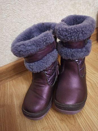 Сапожки сапоги ботинки зимние для девочки