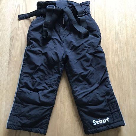 Spodnie narciarskie na szelkach rozm.98