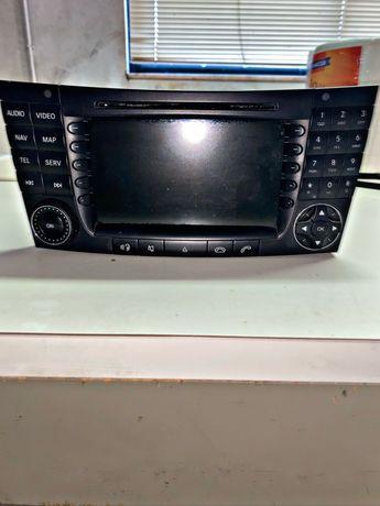 Rádio-Gps Mercedes E E211 completo