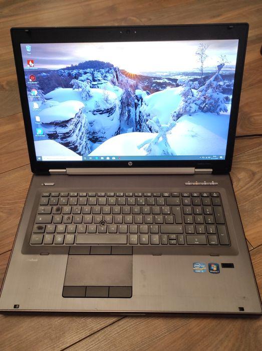 Laptop HP ELITEBOOK 8760w i5 2,5 GHz 8 GB RAM 120 SSD Wytrzyszczki - image 1