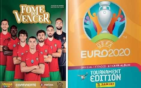 Troco cromos Fome de Vencer 2021 por cromos Euro 2020 Panini