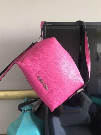 Calvin Klein torebka torebeczka różowa