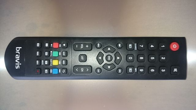 Пульт BRAVIS LED-48G5000 + T2 black