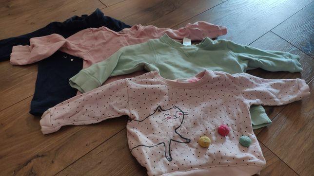 Bluzy, bluzki H&M, TAO rozmiar 74