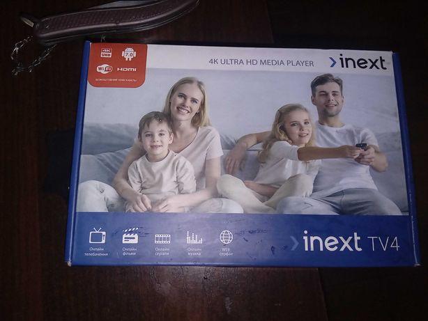 Inext tv4 smart приставка