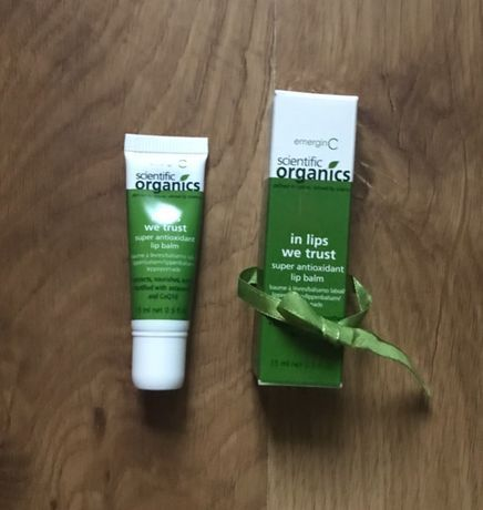 EmerginC Scientific Organics LIPS pomadka ochronna szminka guerlain