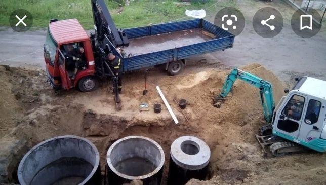 Септик під ключ, облаштування зовнішньої каналізації, вигрібні ями