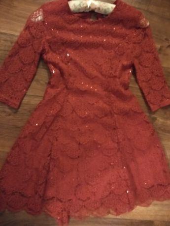 Świąteczna sukienka wizytowa