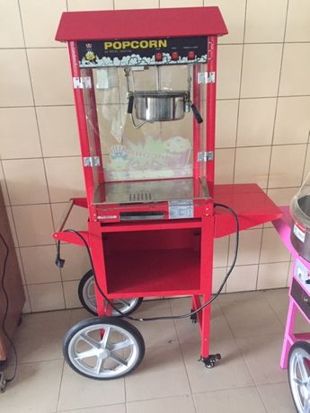 Maszyna do popcornu Royal Catering z wózkiem Jak NOWA