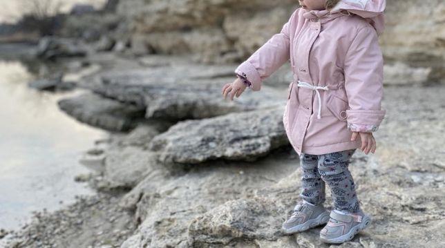 Пальто на девочку куртка пуховик