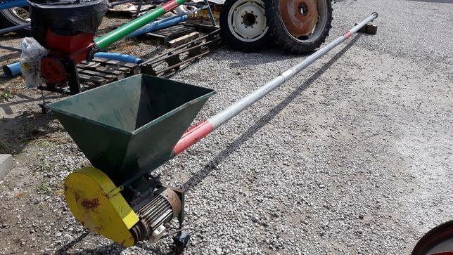 ŻMIJKA zachodnia z koszem 6,7,9,10 m Fi 100-140 mm przenośnik-ślimak