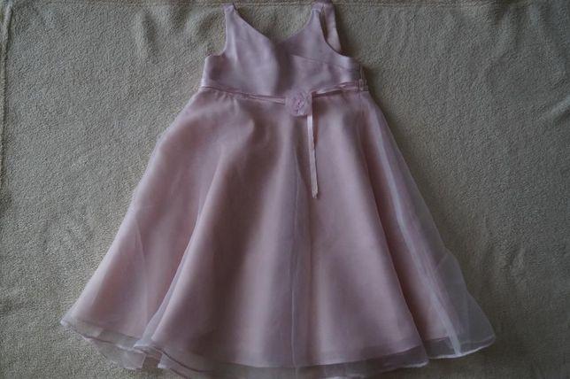 śliczna sukienka, na wesele, komunię, imprezę, rozm. 18-24m-ce