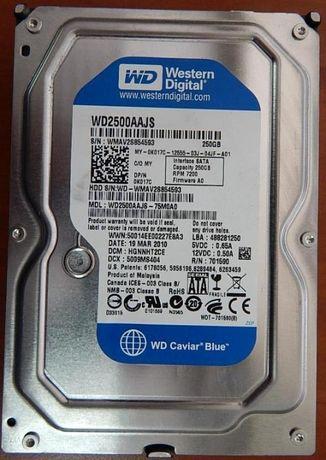 HDD WD2500AAJS, 250Gb