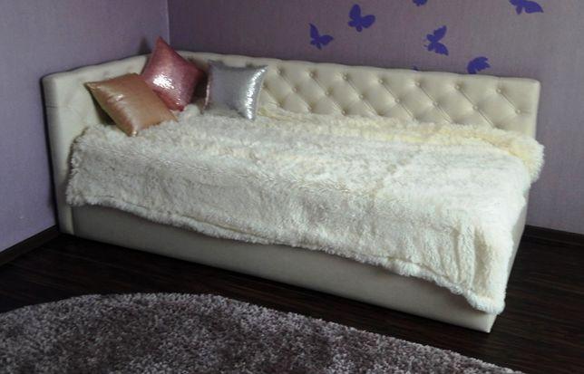 Кровать мягкая в детскую с подъёмн. механизмом.