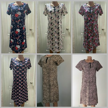 Халат-платье домашнее хлопок 100%, Узбекистан
