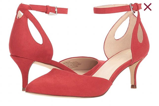 Туфли босоножки червоні красные Nine West 25 см