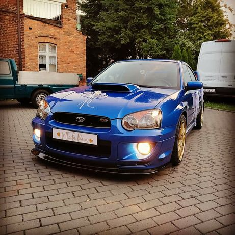 Auto do ślubu Subaru Impreza WRX  Rajdówka samochód do ślubu STI