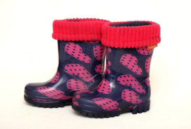 Гумовці, резинові чобітки demar, детские резиновые сапоги
