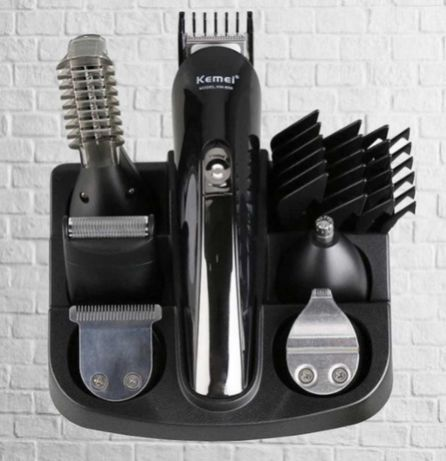 Машинка для стрижки набор 11 в 1 тример для волос бороды усов