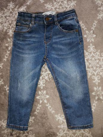 Zara baby jeansy dla chłopca 12-18 mc