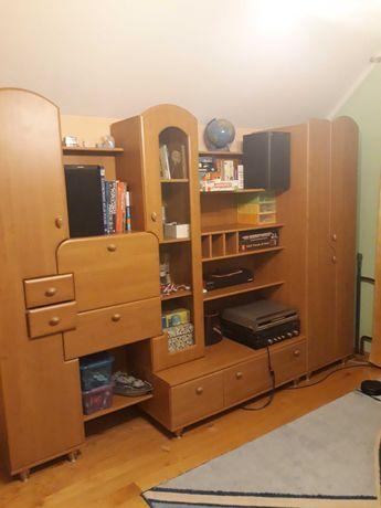 Regał meblościanka BRW 265 cm plus ew. biurko i komoda