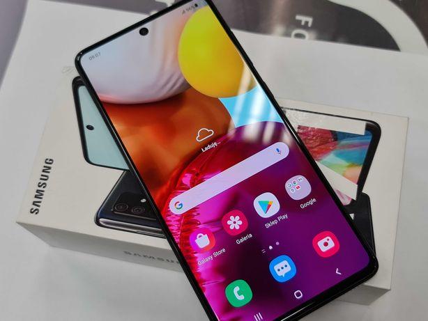 Samsung Galaxy A71 6GB/128GB Dual SIM/ Prism Crush Black/ Gwarancja