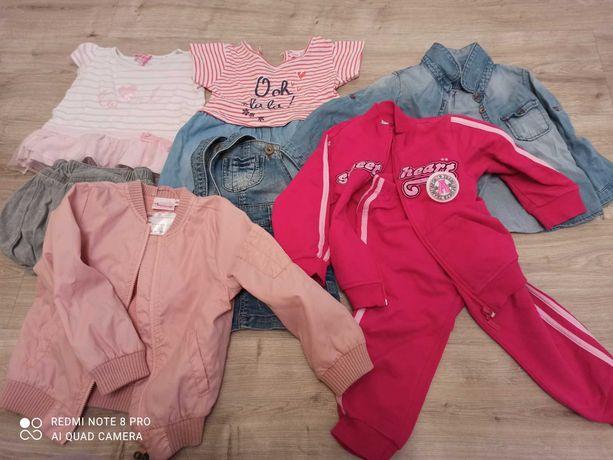 Пакет брендовых вещей на девочку 12-18 месяцев