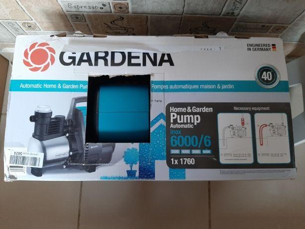 POMPA GARDENA Automat do domu i ogrodu 6000/6 LCD inox