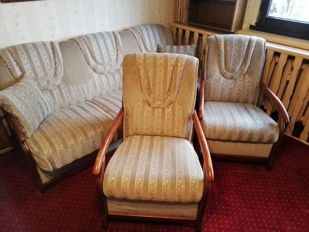 Fantastyczny zestaw wypoczynkowy kanapa i dwa fotele rewelacja