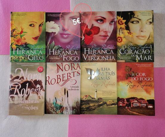 25 livros Nora Roberts, J.D. Robb-Desde 5€