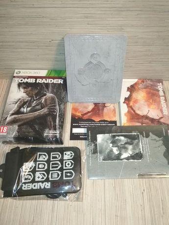 [Tomsi.pl] nowa Tomb Raider PL +Steelbook +Gadżety XBOX 360 X360