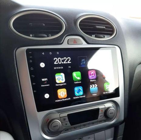 Radio samochodowe android FORD FOCUS mk2 nawigacja Gps WiFi