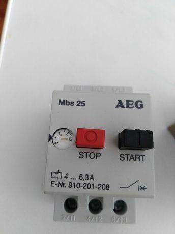 Motor starter termico aeg